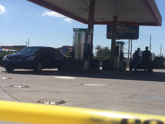 2 shot during brawl outside Circle K