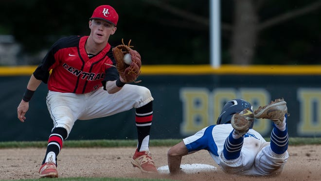 Hunterdon Central  Baseball vs Westfield in NJSIAA Group 4 State Final in Hamilton, NJ in June 11, 2018.