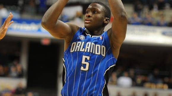 Victor Oladipo (pictured) was named the NBA All-Rookie first team Thursday.