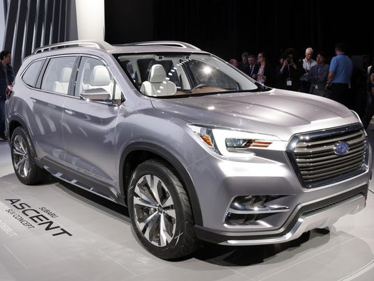 Subaru rolls out its Ascent full-size SUV