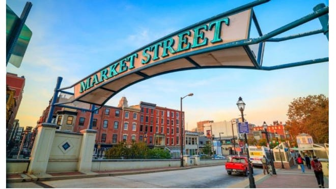 Thanks for the mention, Reader's Digest, but this is definitely not York's Market Street.