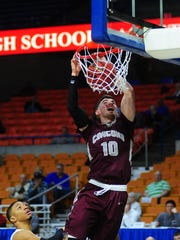 Chillicothe grad Tommy Bolte scored 65 points for Concord University in a game last week.