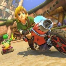 Nintendo adds Link from 'The Legend of Zelda'  to Mario Kart 8 via DLC.