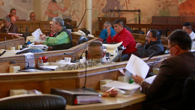 Navajo Nation Council delegates passed bills that will provide millions of dollars for building construction and wastewater projects before adjourning the winter legislative session on Thursday in Window Rock, Ariz.
