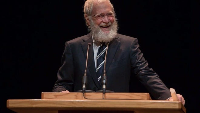 Dave Letterman at Ball State University