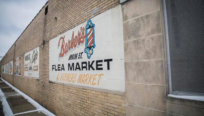 The Main Street Flea Market in Muncie in February.