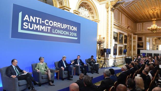 John Kerry in London on May 12, 2016.