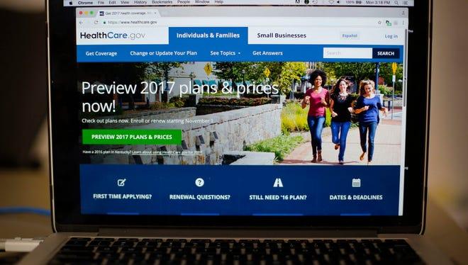 HealthCare.gov 2017 web site.