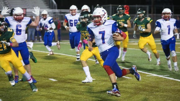 Scenes from Friday night's game between A.C. Reynolds and West Henderson at Reynolds.  Reynolds took the win with a final score of 43-8.