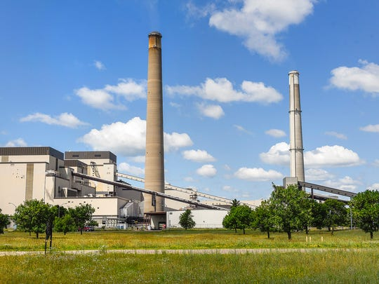 The Xcel Energy Sherco coal-fired plant in Becker,