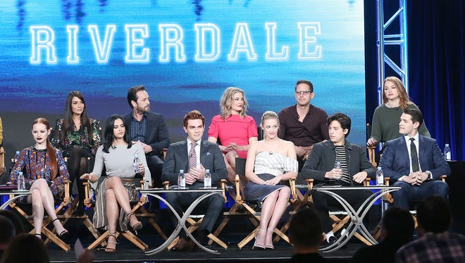 The cast of 'Riverdale' speaks at the Television Critics Association Press Tour. Can you guess which actor plays which character?