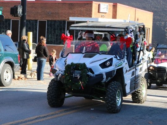 Lexi Lamb and family won the ATV award for best decorated ATV in the parade.