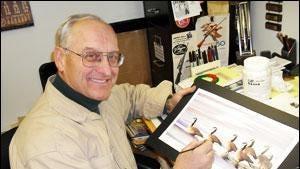 Jim Borgreen was an accomplished wildlife artist.