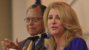 Former Texas Sen. Wendy Davis