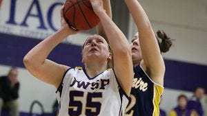 Senior center Joann Wolfenberg and the University of Wisconsin-Stevens Point women's basketball team will look to continue its winning ways with WIAC road games at UW-Platteville and UW-Oshkosh this week.