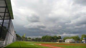 baseball field with sky (Credit: iStockphotos)