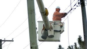 Utility crews are continuing to restore power to people affected by Wednesday's wind storm.
