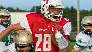 Isaac Pelot and the Raiders can clinch a playoff spot with a win over SPASH in the Ol' River Jug matchup.