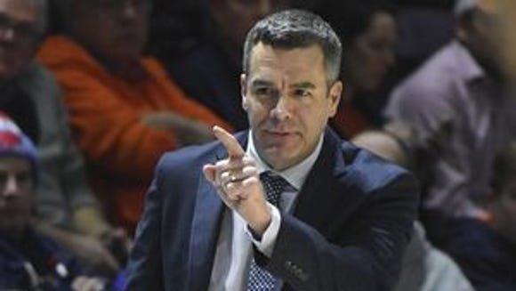 Virginia Cavalier head coach Tony Bennett
