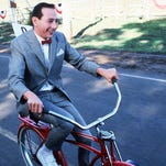 """""""Pee-wee's Big Adventure"""" will play July 11 at the first Bike-in Movie on Mason."""