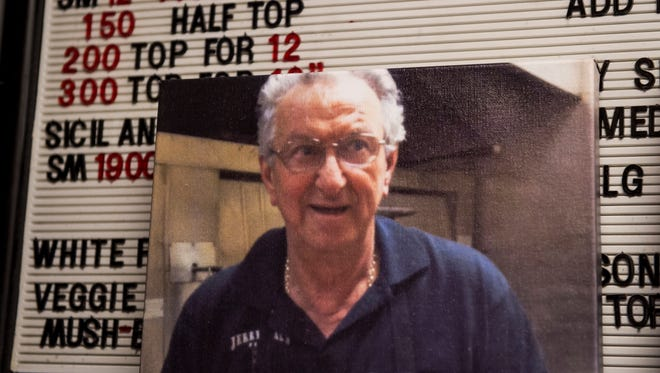 """Gennaro """"Jerry"""" Malvone, the owner of Jerry and Sal's pizza in the North Hanover Mall, died on May 20, 2017 at the age of 76."""
