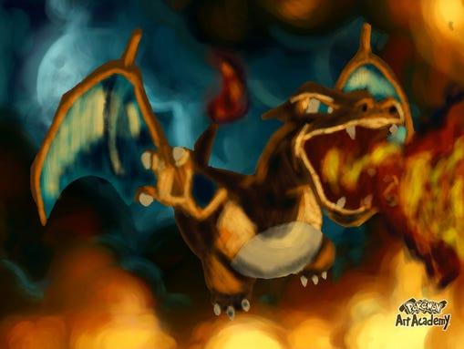 Pokemon Art Academy Artwork in Pokemon Art Academy