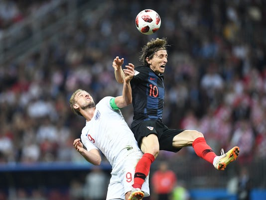 Soccer: World Cup-England vs Croatia