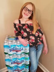 Ava Southers, a Nativity Catholic Grade School pupil, turned 10 this weekend. She used some of her birthday money to buy water for families in Flint, Mich.