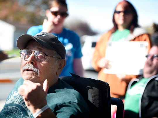 """Resident of Cedar Haven Richard Boyer believes the replacement caretakers are doing the """"best they can"""" but can't replace the workers who have come to know the residents."""