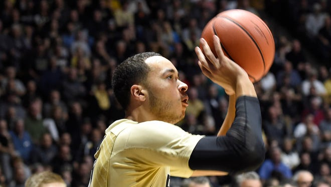 Boilermakers guard Kendall Stephens is back with the team after an excused absence due to personal reasons.