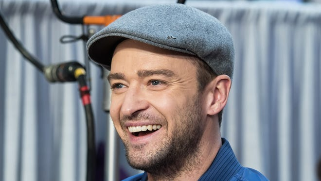 Justin Timberlake in New York on Oct. 6, 2016.