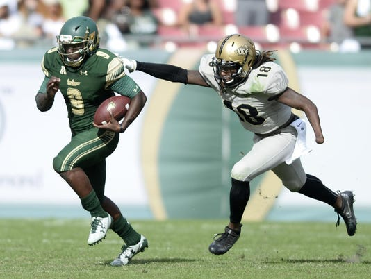 Ucf S One Handed Lb Wins Top Aac Defensive Honor