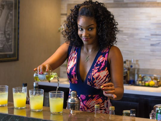 Tiffany Haddish, as Dina, proved an engaging scene-stealer in 'Girls Trip.'