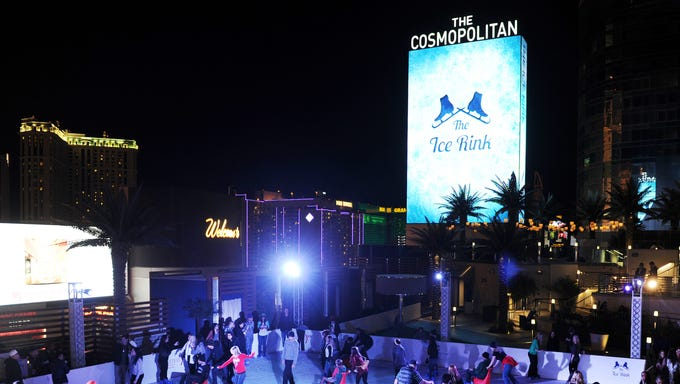 Chance of snow at The Cosmopolitan of Las Vegas
