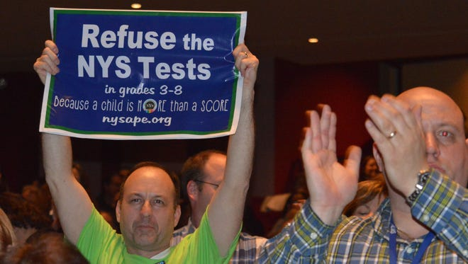 Last year, 22 percent of students eligible to take state exams refused to do so, a movement started by parents fed up with excessive testing and high-stakes exams.