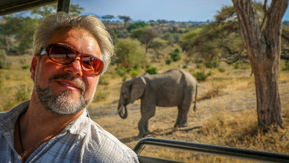 Bret Love in South Africa.
