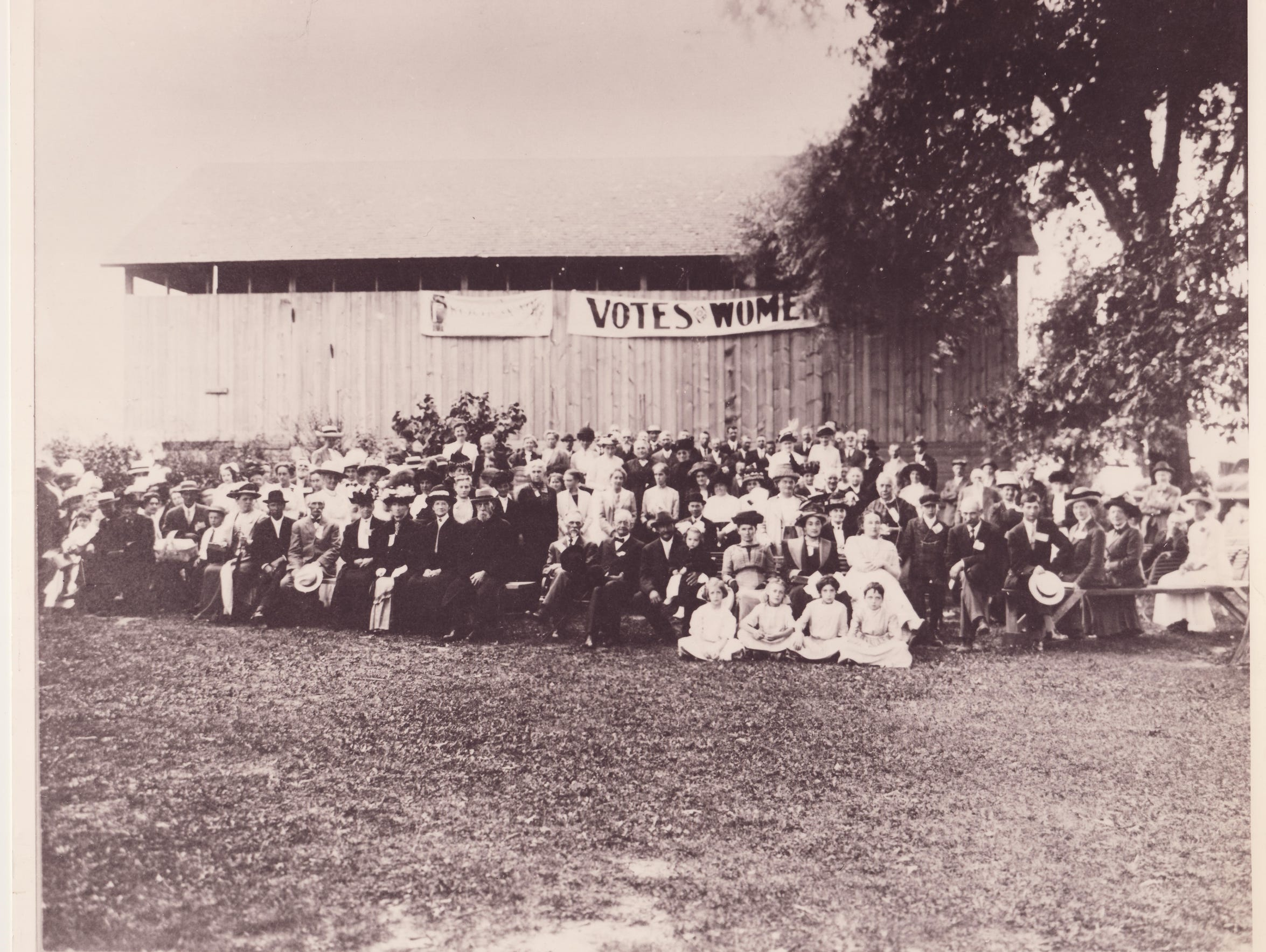 This historical photo provided by the Michigan Women's