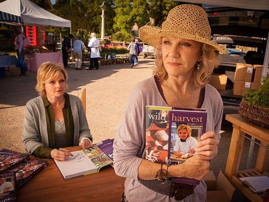Sharon Small and Hayley Mills in Midsomer Murders episode