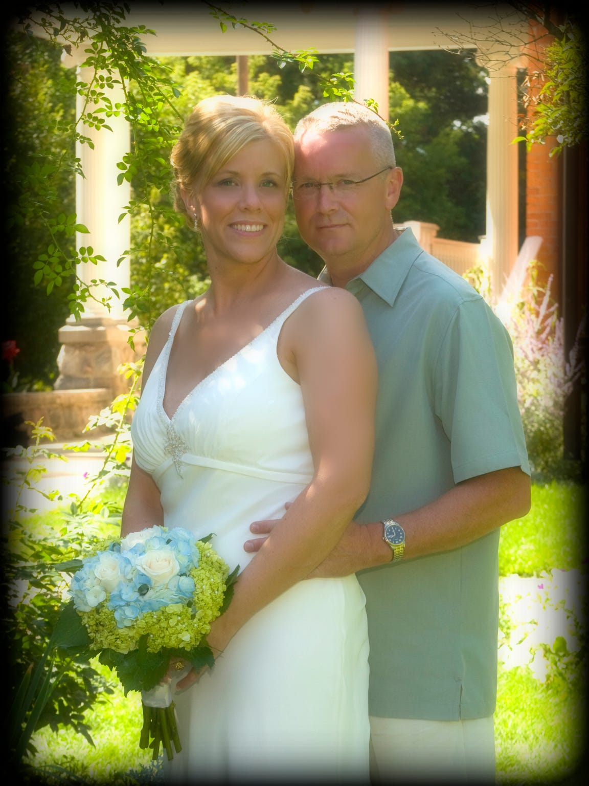 Teresa and Rod Sadler married in 2008. A photo from