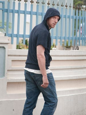 Framed by Abu Nazir for the bombing at CIA Headquarters, Nick Brody (Damian Lewis) has shaved off his trademark red hair and gone on the run.
