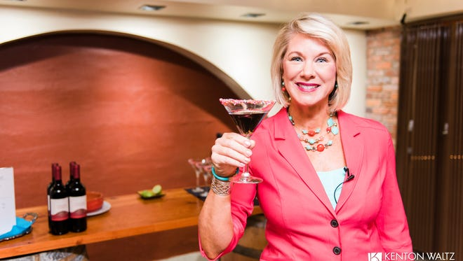 """Martinis & Menopause: Kelli Jaecks is giving an exclusive reading from her soon-to-be-published book """"Martinis and Menopause"""" at this soirée, women are invited to relax and enjoy cocktails, 6 to 7 p.m. cocktails and mingling; 7 to 7:20 p.m. talk; and 7:20 to 8 p.m. more cocktails and mingling, Venti's Café + Basement Bar, 325 Court St. NE, Salem. Free."""