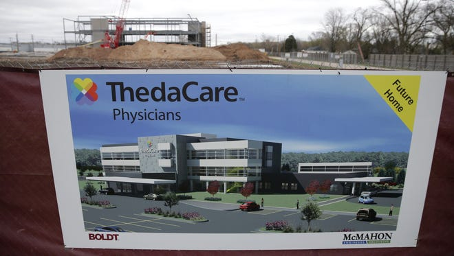 ThedaCare is in the midst of building a new clinic on Green Bay Road in the Town of Menasha.
