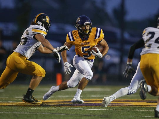 Johnston's Anthony Coleman was a force at defensive back for the Dragons last year. He was also dangerous as a receiver and return man. The senior will be crucial if Johnston is to reach the UNI-Dome this season.