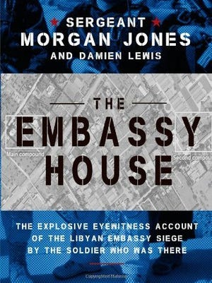 'The Embassy House' by Sergeant Morgan Jones and Damien Lewis has been pulled by its publisher.