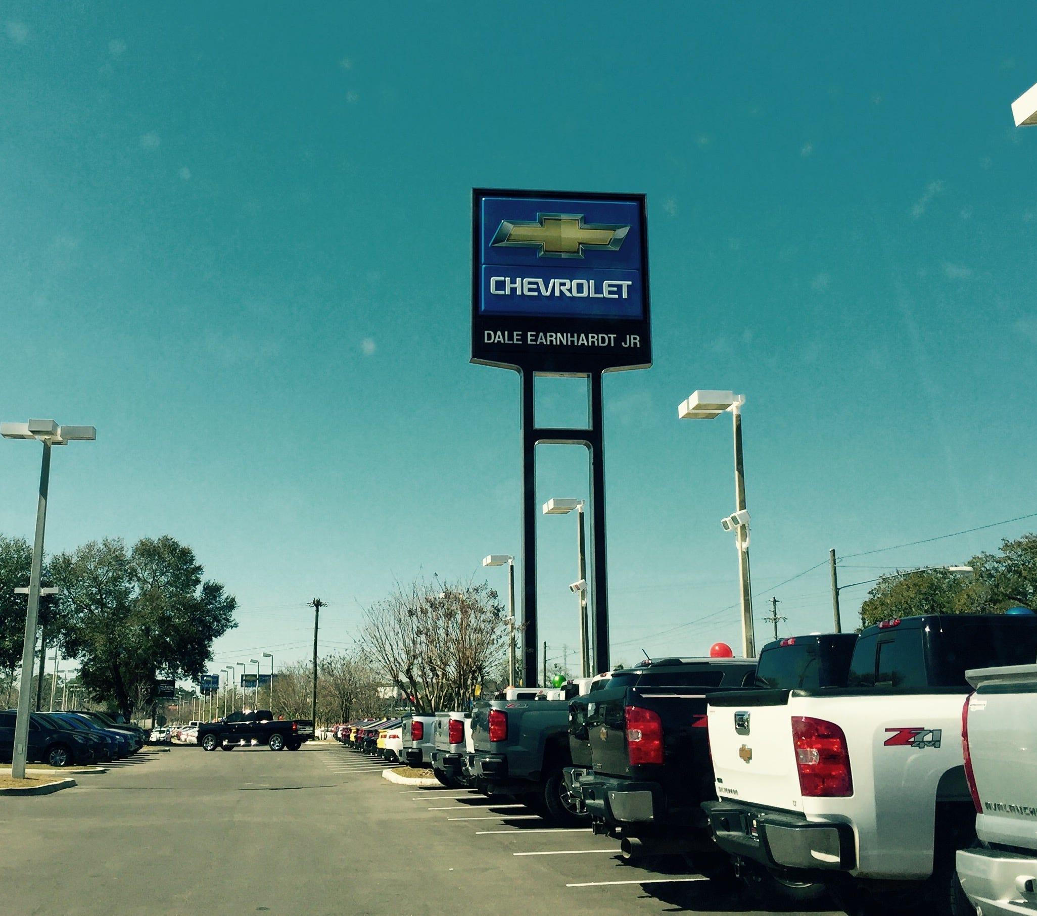 The Dale Earnhardt Jr. Chevrolet Dealership, On West