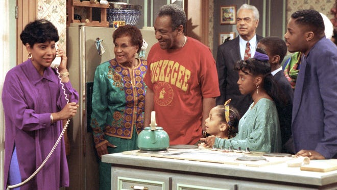 "Bill Cosby on the ""The Cosby Show."""