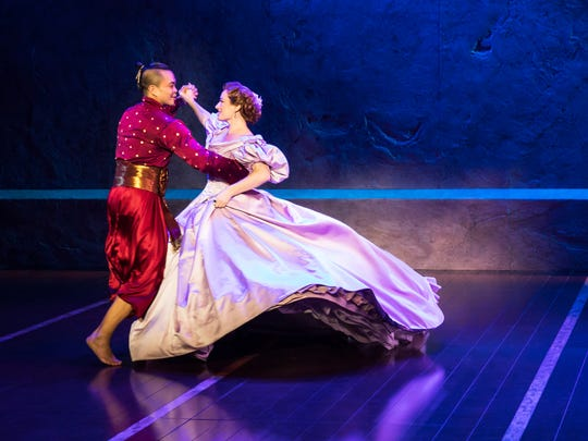 Jose Llana and Laura Michelle Kelly in the national
