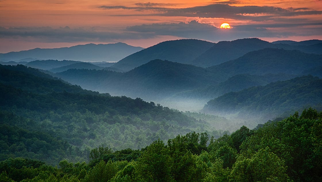 Free Home Delivery Icon Great Smoky Mountains ...