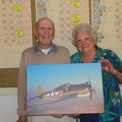 Pilot for life: WWII veteran celebrated for service to country and community