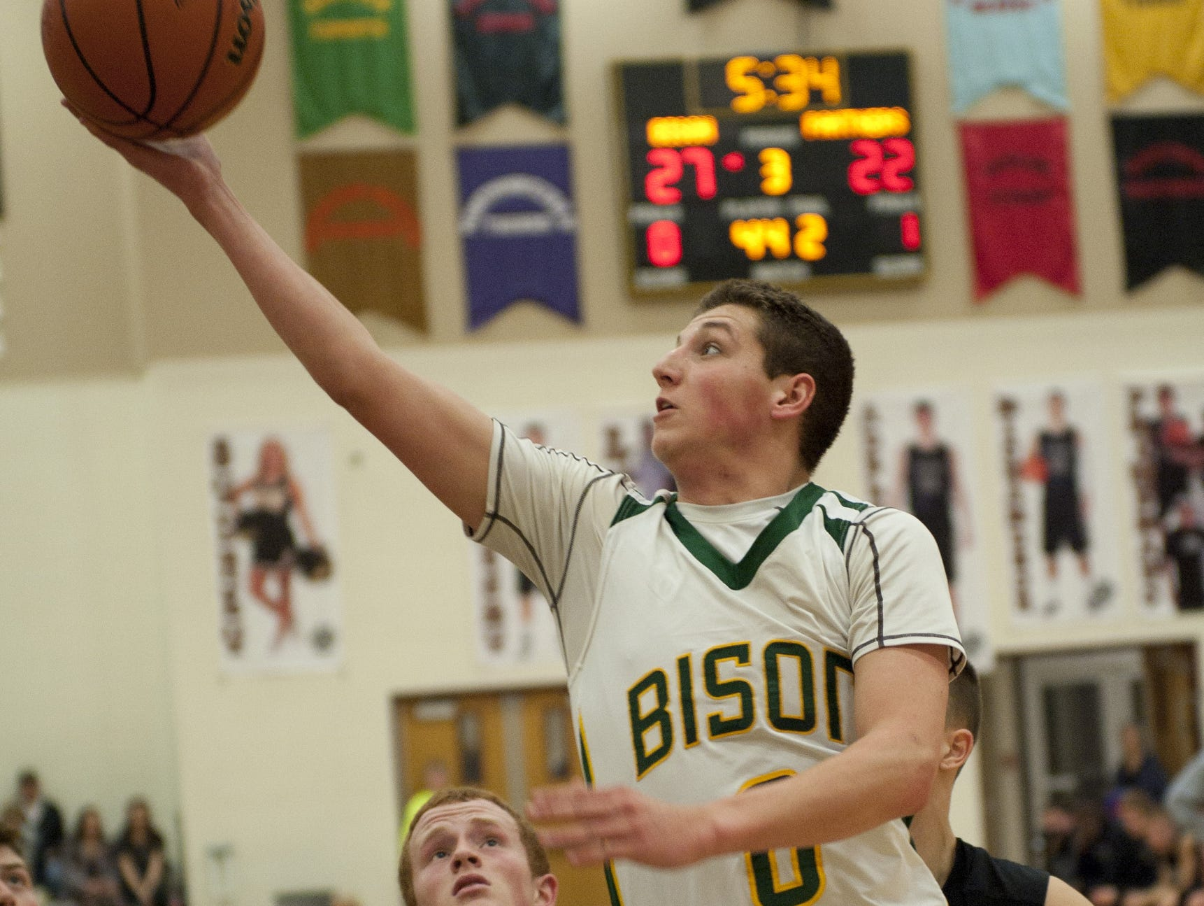 Austin Dixon is part of an experienced Benton Central backcourt.